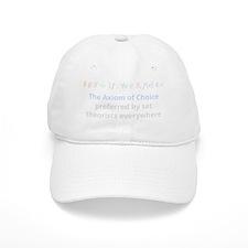 The Axiom of Choice (for dark background) Baseball Cap