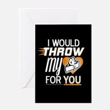 I Would Throw My Pie for You Greeting Card