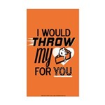 I Would Throw My Pie for You Sticker (Rectangle)