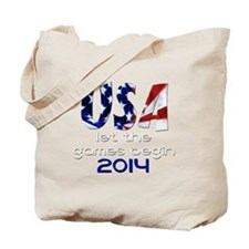 USA Winter Games 2014 Tote Bag