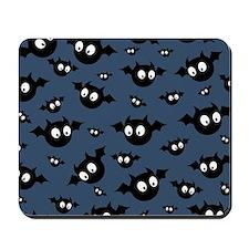 Cute Bat Pattern Mousepad