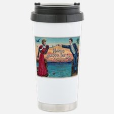 Hands Across The Sea Stainless Steel Travel Mug