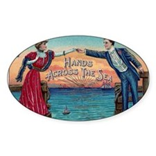 Hands Across The Sea Decal