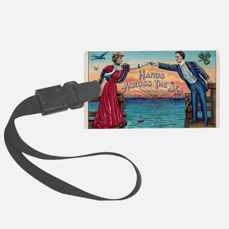 Hands Across The Sea Luggage Tag