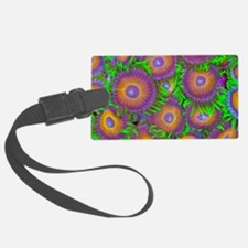 Zoanthid colony Luggage Tag