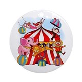 Circus Round Ornaments
