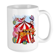 The Circus is in Town Mug