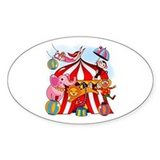 The Circus is in Town Decal