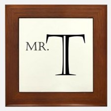 Mr. T Framed Tile
