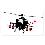 Love Machine Rectangle Sticker