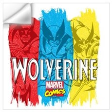 Wolverine Paint Wall Art Wall Decal