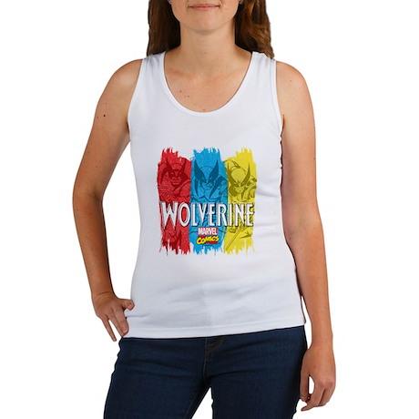 Wolverine Paint Women's Tank Top