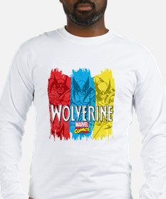 Wolverine Paint Long Sleeve T-Shirt