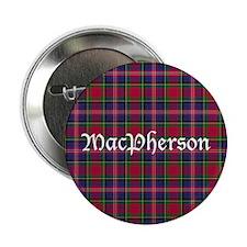 "Tartan - MacPherson 2.25"" Button"