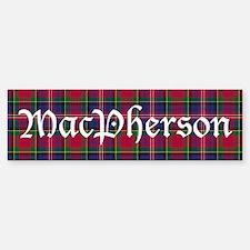 Tartan - MacPherson Bumper Bumper Sticker