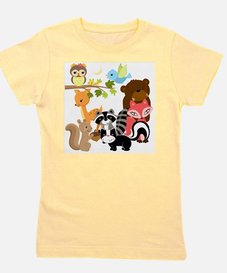 Forest Friends Girl's Tee