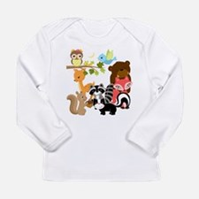 Forest Friends Long Sleeve Infant T-Shirt