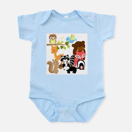Forest Friends Infant Bodysuit