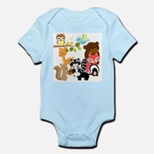 Forest Friends Onesie