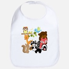 Forest Friends Bib