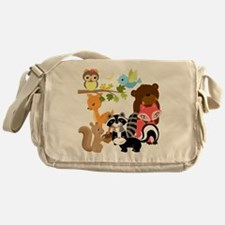 Forest Friends Messenger Bag