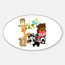 Forest Friends Decal
