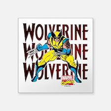"""Wolverine Square Sticker 3"""" x 3"""""""