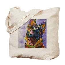 German Shepherd Pup Art Tote Bag