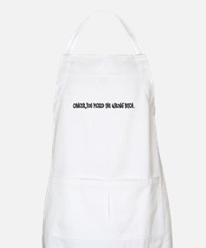 Cancer, you picked the wrong bitch BBQ Apron
