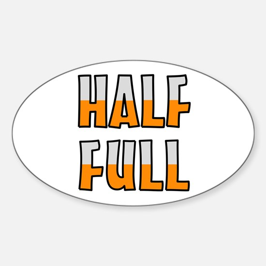 HALF FULL Decal