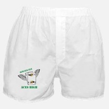 Always Fly Aces High Boxer Shorts