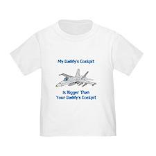 My Daddys Cockpit T-Shirt