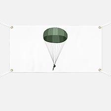 Airborne Paratrooper Banner