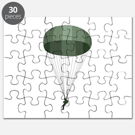 Airborne Paratrooper Puzzle