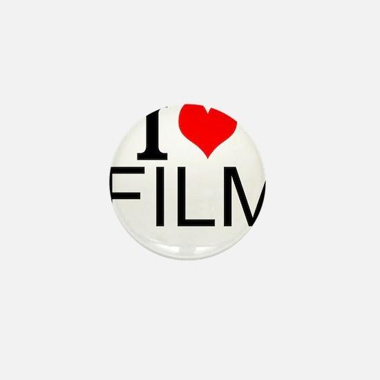 I Love Film Mini Button