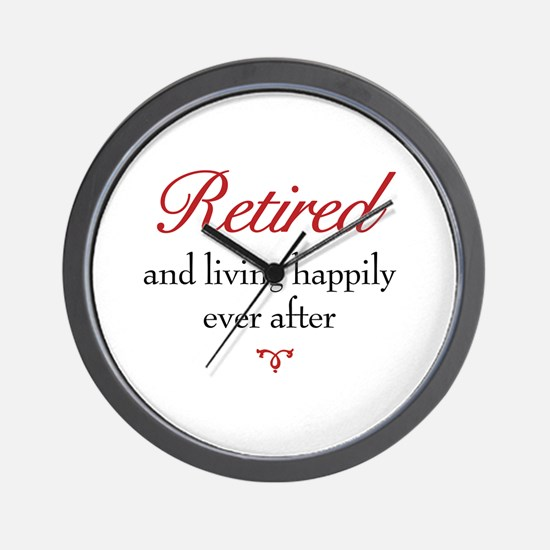 Retirement Wall Clock