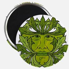 The Greenman of the Summer Solstice Magnet