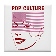 POP CULTURE Tile Coaster