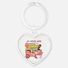 The Ice Cream Truck Heart Keychain