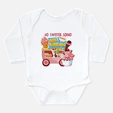 The Ice Cream Truck Long Sleeve Infant Bodysuit