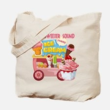 The Ice Cream Truck Tote Bag