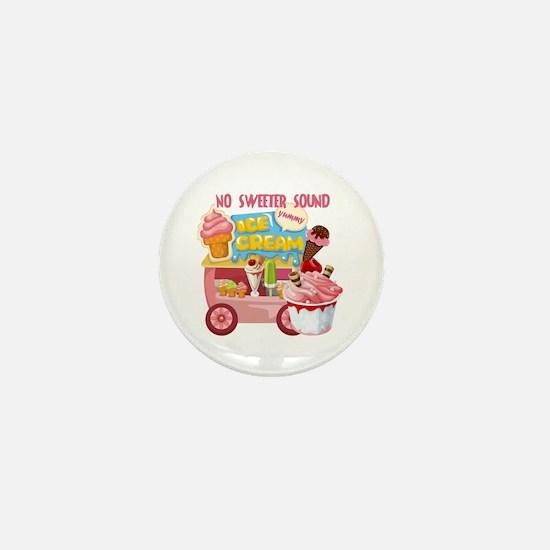 The Ice Cream Truck Mini Button