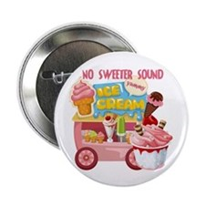 """The Ice Cream Truck 2.25"""" Button"""