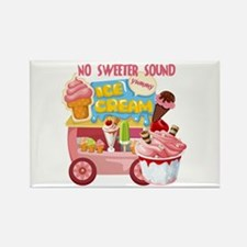 The Ice Cream Truck Rectangle Magnet
