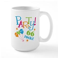 66th Birthday Party Mug