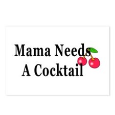 Mama Needs a Cocktail I Postcards (Package of 8)