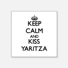 Keep Calm and kiss Yaritza Sticker