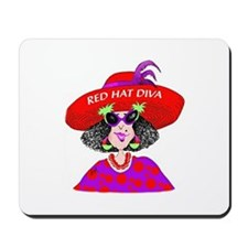 Red Hat Diva Mousepad