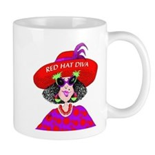 Red Hat Diva Mugs