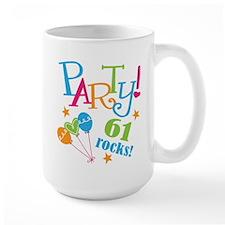 61st Birthday Party Mug